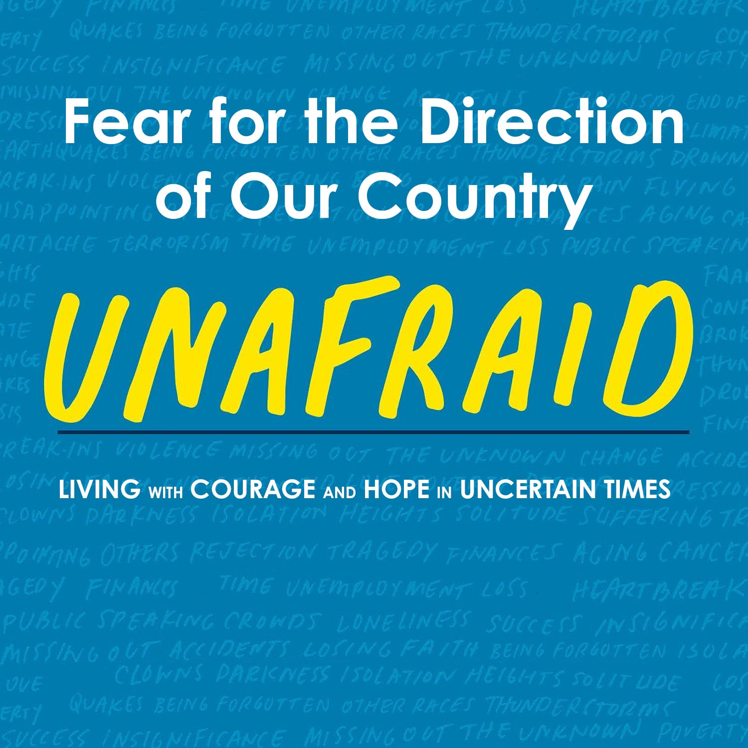 Unafraid: Fear for the Direction of Our Country